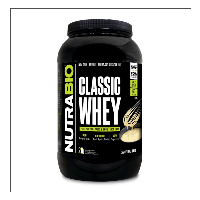 CoalitionNutrition,Nutra Bio - Classic Whey - CoalitionNutrition