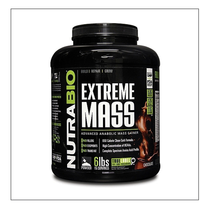 CoalitionNutrition,Nutra Bio - Extreme Mass - CoalitionNutrition