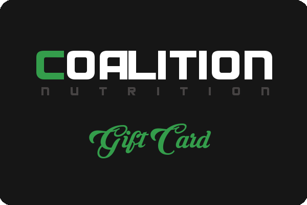 CoalitionNutrition,Coalition Nutrition Gift Card - CoalitionNutrition