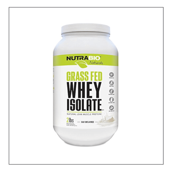 Nutra Bio Grass Fed Whey Isolate