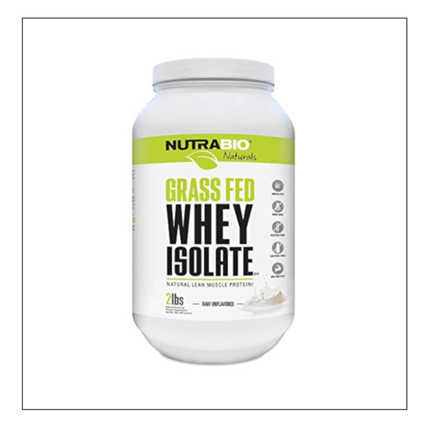 CoalitionNutrition,Nutra Bio Grass Fed Whey Isolate - CoalitionNutrition