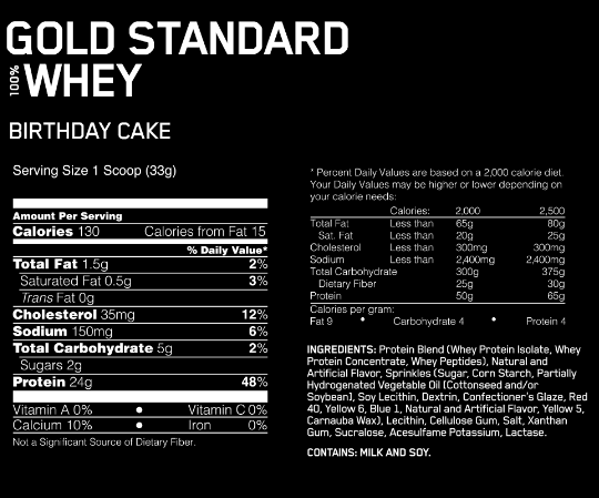 ON 100 Gold Standard Whey
