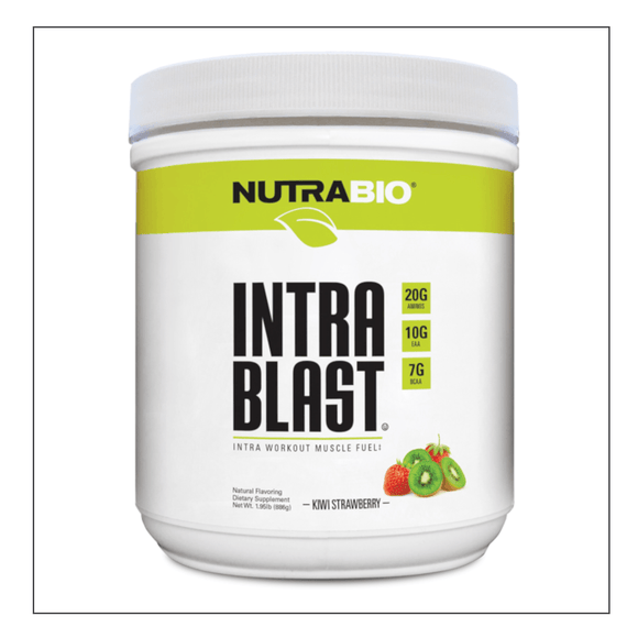 Nutra Bio Intra Blast Natural Kiwi Strawberry