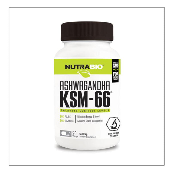 CoalitionNutrition,Nutra Bio Ashwagandha KSM 66 - CoalitionNutrition
