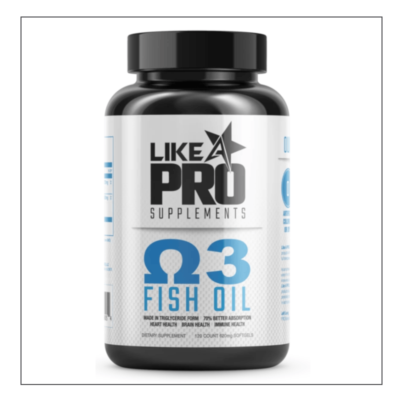 Like A Pro Supplements Fish Oil
