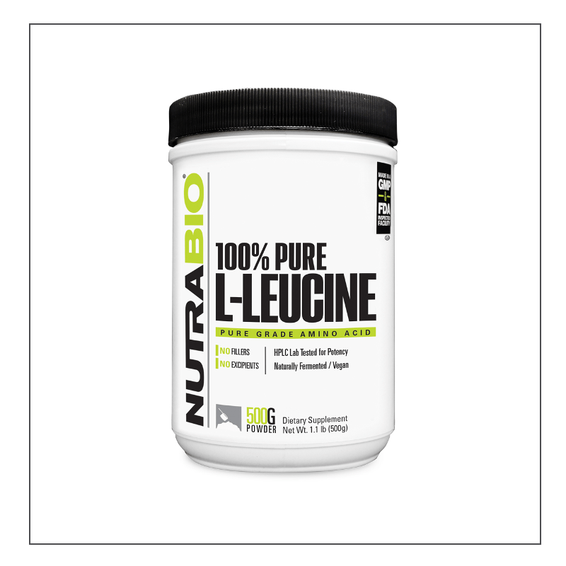 CoalitionNutrition,Nutra Bio - Leucine Powder - CoalitionNutrition
