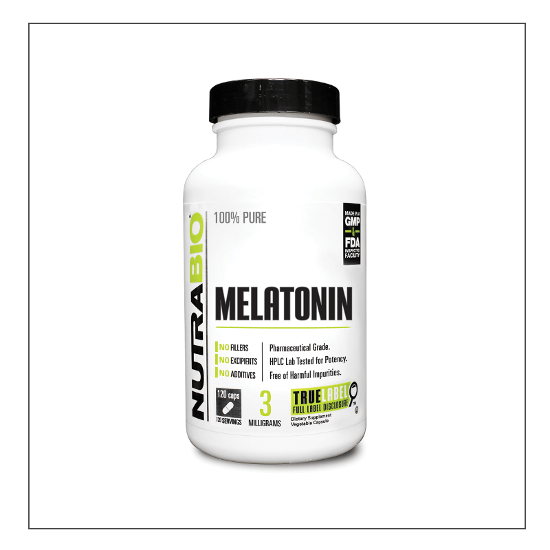 CoalitionNutrition,Nutra Bio - Melatonin - CoalitionNutrition