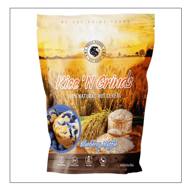 Pride Foods Hot Rice Cereal