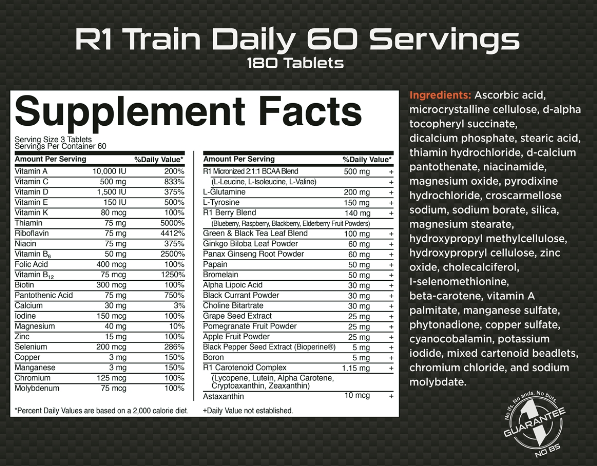CoalitionNutrition,Rule 1 - Train Daily Multivitamin - CoalitionNutrition