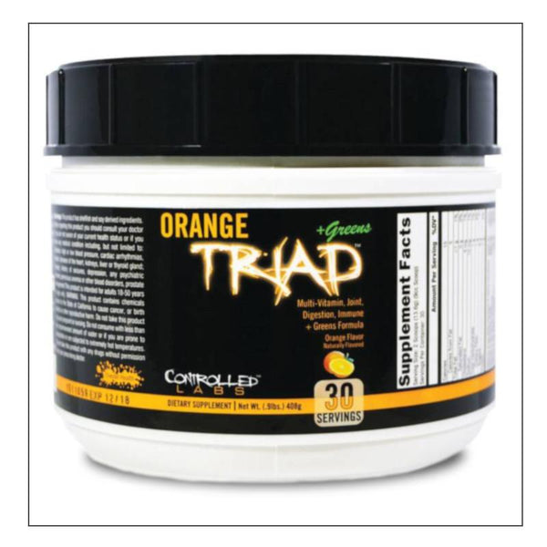 Controlled Labs Orange Triad Powder + Greens
