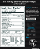 Rule 1 Whey Blend Label