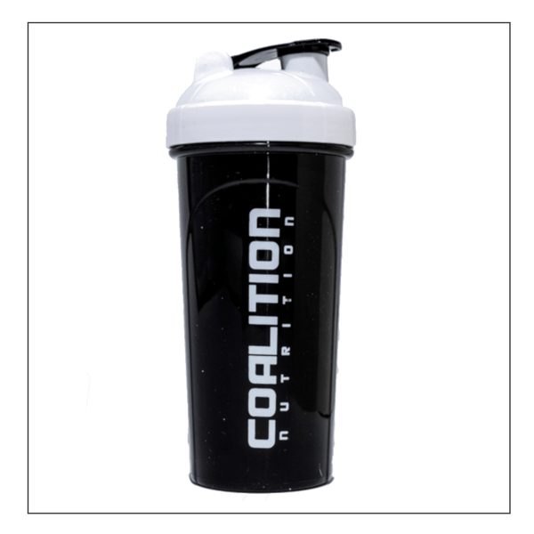 Coalition Nutrition Black & White Shaker
