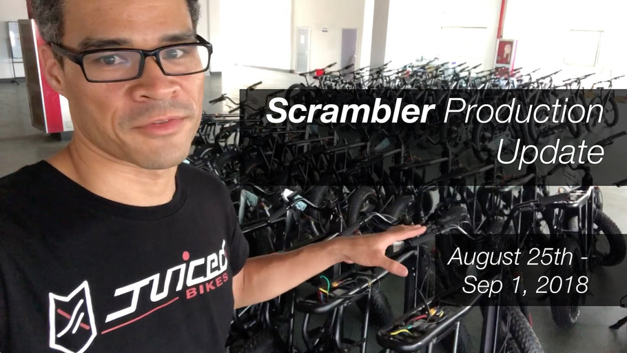 Scrambler Update - First week after the INDIEGOGO campaign