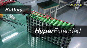 Fall in love with your Hyper Extended Range battery