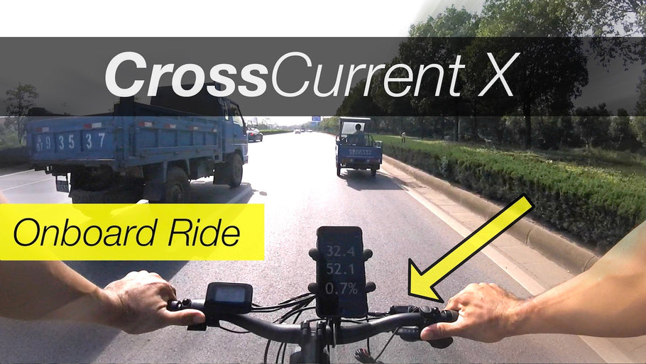 Juiced Bikes - CCX First Onboard Ride! (w/Video)