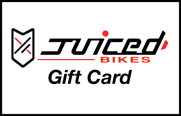 Did you know that Juiced Bikes offers Gift Cards?