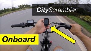 Juiced CityScrambler - First Onboard Ride! (Bonus Footage)