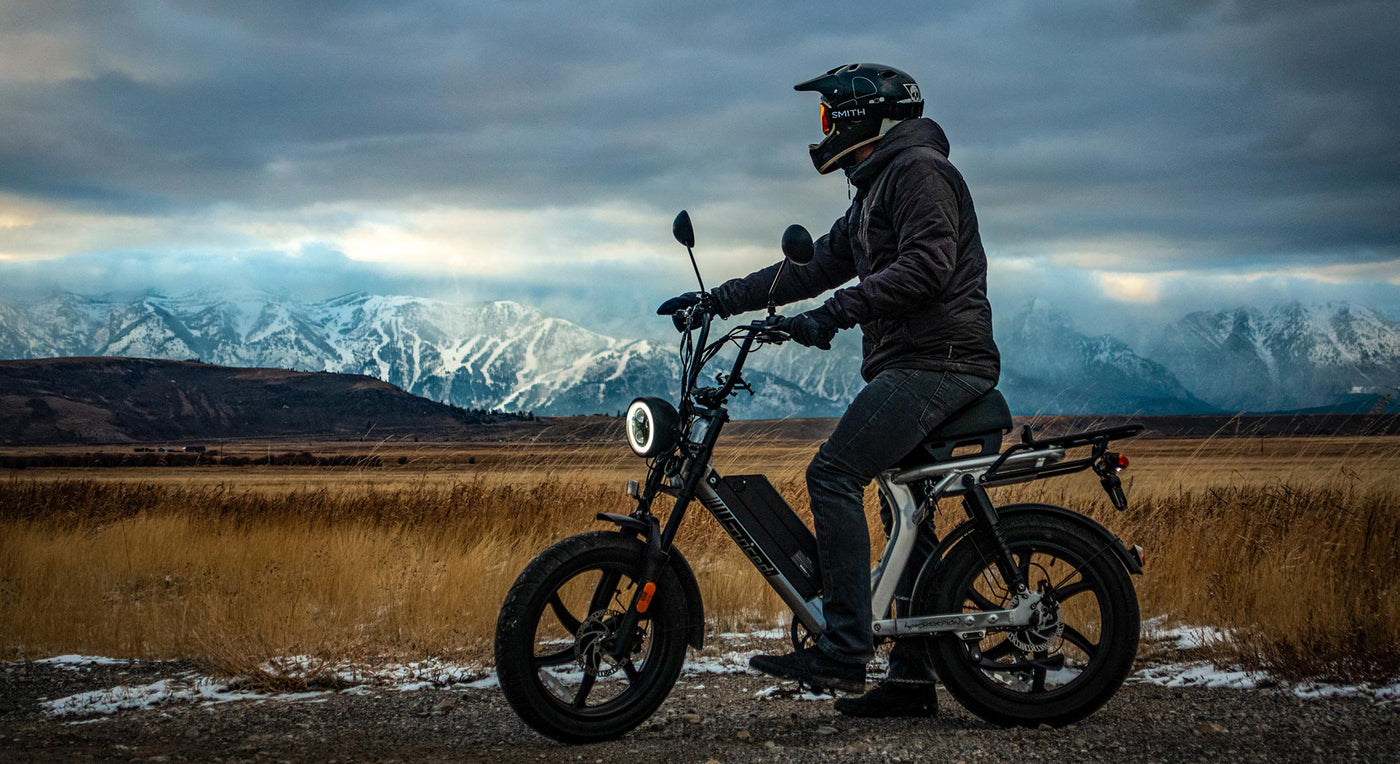 Riding and Storing Your E-Bike During Winter