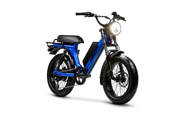 THE NEW SCORPION: Moped-Style Electric Bike