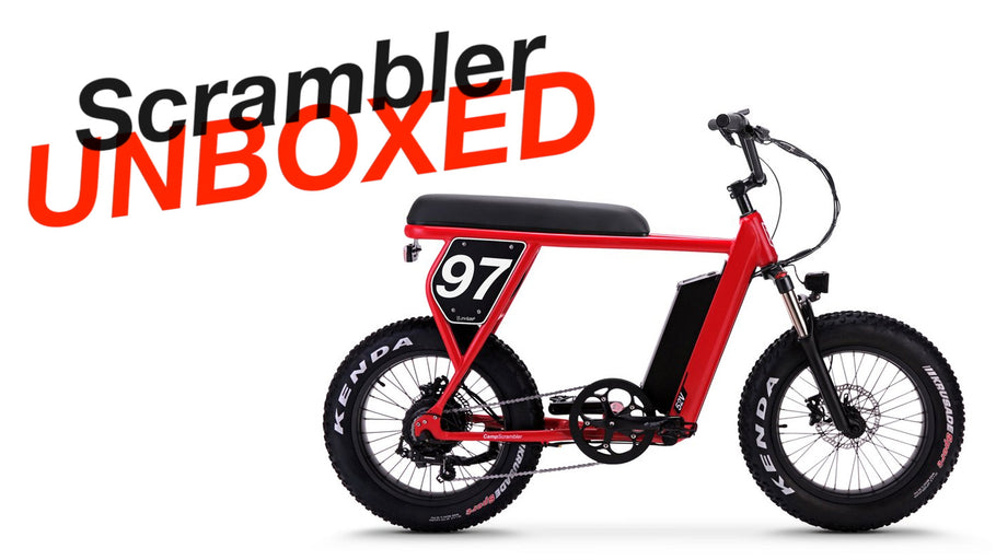 Juiced Bikes Scrambler Initial Unbox Video