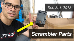 September 3rd - Checking on Scrambler Parts