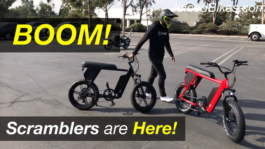 Juiced Scrambler UPDATE - Scramblers in San Diego