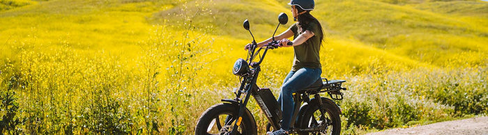 Best E-bikes and Accessories for Mother's Day!