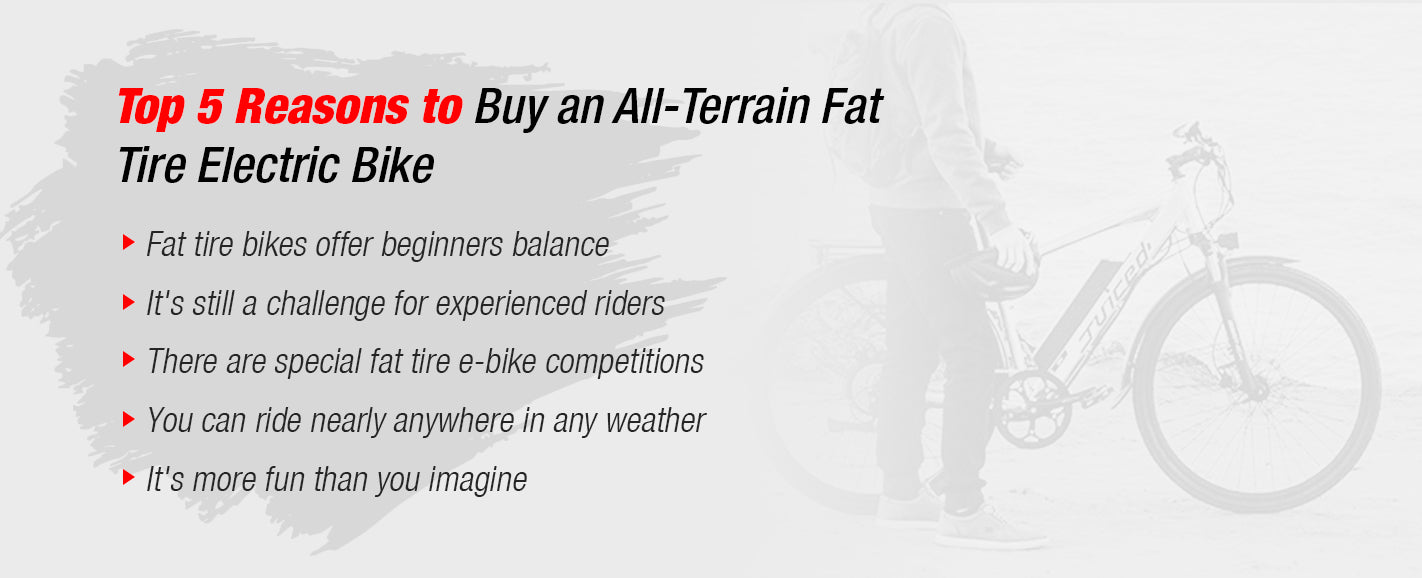 Top 5 Reasons to Buy an All Terrain E-Bike
