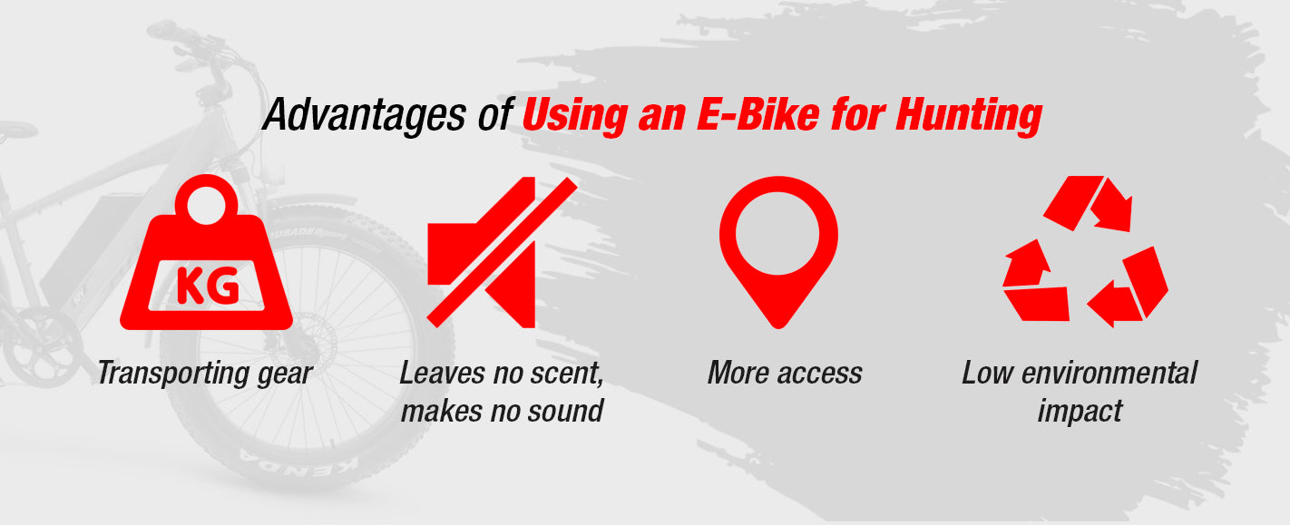 Benefits of Using an E-Bike for Hunting