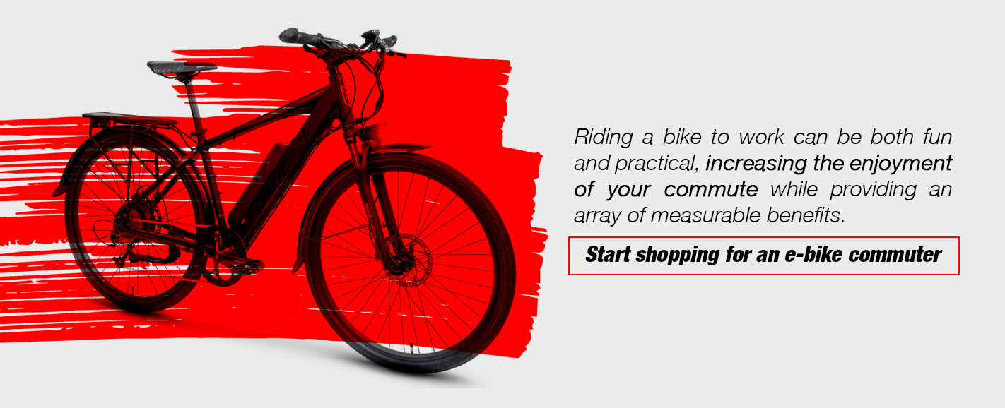 Shop Our Selection of Commuter Electric Bikes