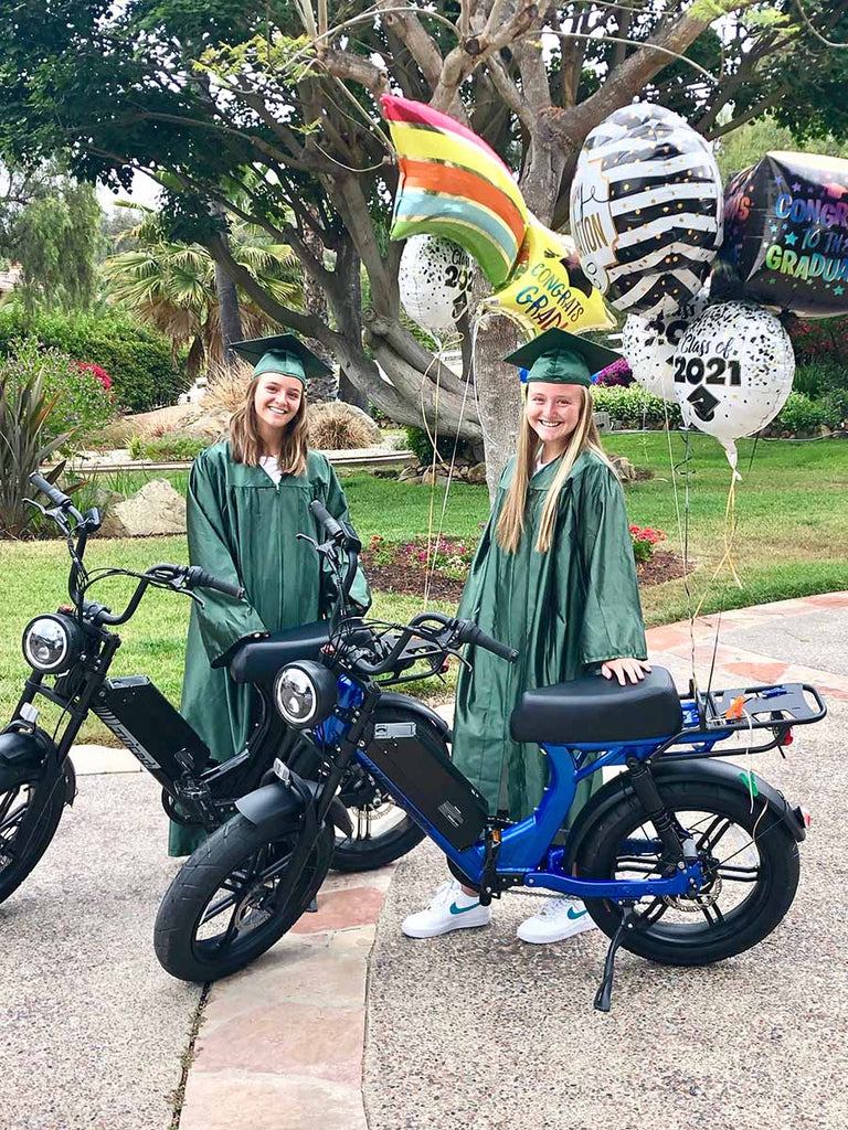 Grads with Juiced Bikes!