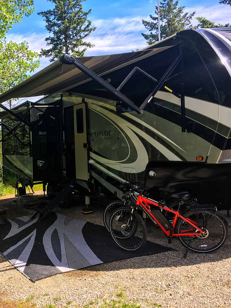 Traveling With an E-Bike Trailer