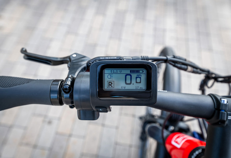 LCD Advanced Matrix Display on Handlebar