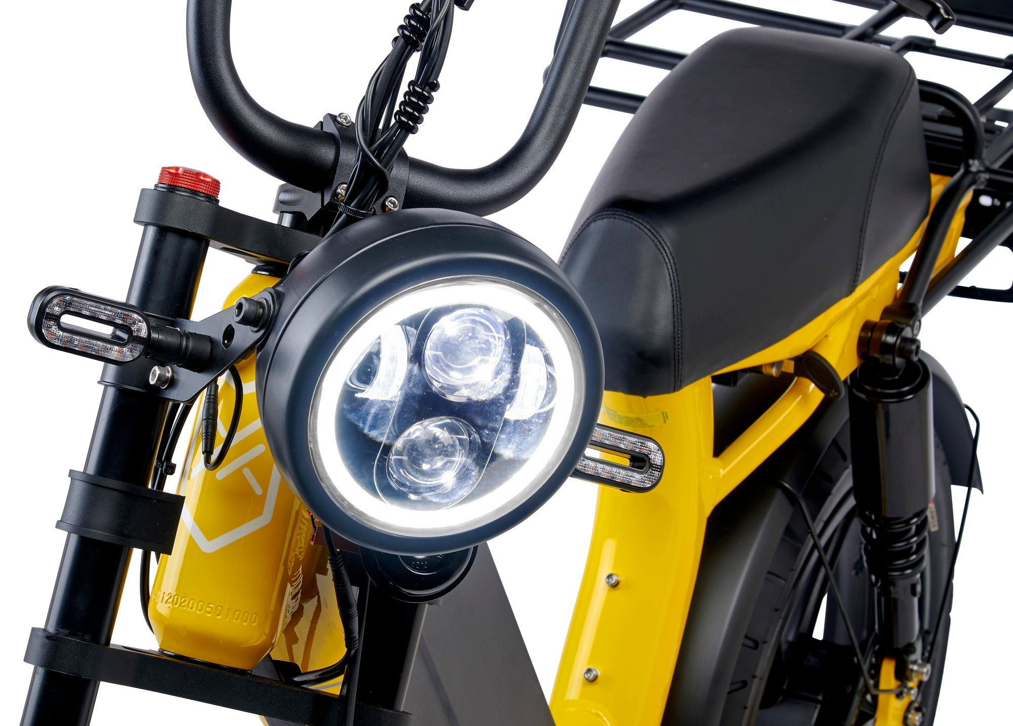 Juiced bikes bright headlight