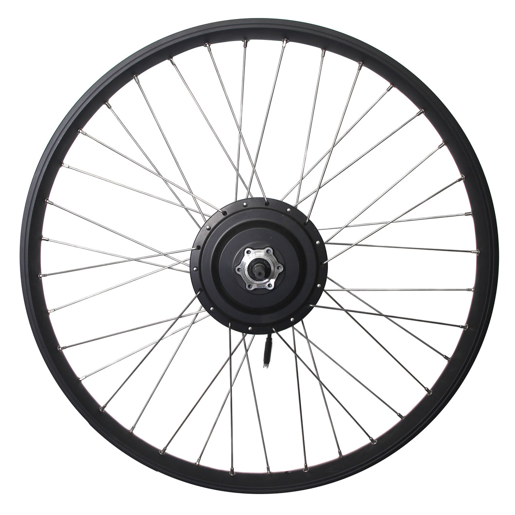 Bafang 500-650 W 26'' Rear Wheel for OceanCurrent/ Cassette Style