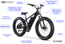 RipCurrent - Electric Fat Bike (52V/750 Watts) / Allow 60 days for delivery