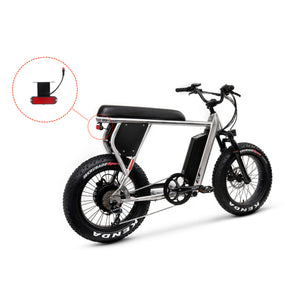 Hyper Tail Light / Multiple Flash Modes / 12-60V Input - Scrambler