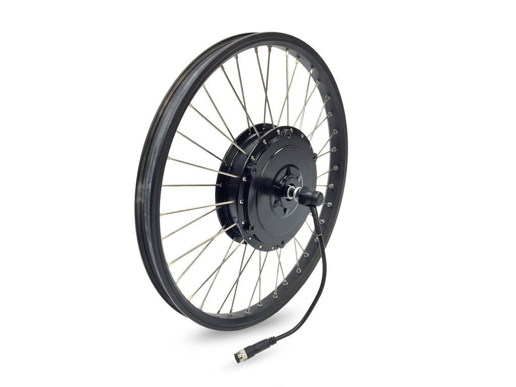 Juiced Bikes U500 V3 Front Wheel (500W Bafang BPM Geared Hub Motor, 12G Spokes and Rim)