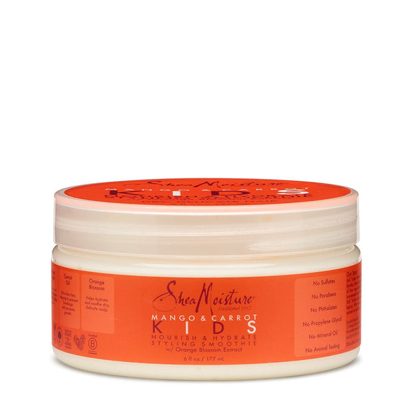 SheaMoisture Mango & Carrot Nourish & Hydrate Styling Smoothie 6oz