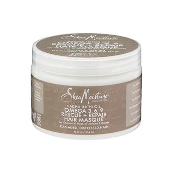 SheaMoisture Sacha Inchi Oil Omega-3-6-9 Rescue + Repair Hair Masque 8oz
