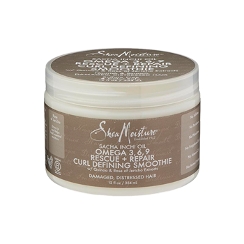 SheaMoisture Sacha Inchi Oil Omega-3-6-9 Rescue + Repair Curl Defining Smoothie 8oz
