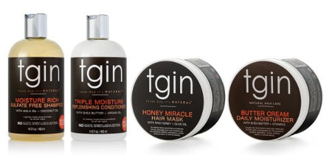 tgin Moist Collection Sample Pack