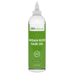 Obia Naturals Argan Rose Hair Oil 4oz