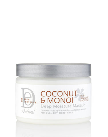 Design Essential Naturals Coconut & Monoi Deep Moisture Masque 12oz