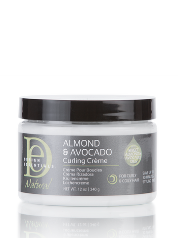 Design Essentials Natural Almond & Avocado Curling Crème 120z