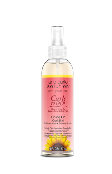 Jane Carter Solution Curls to Go! Shine On Curl Elixir 6oz