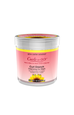 Jane Carter Solution Curls to Go! Curl Drench Cleansing Co Wash 16oz