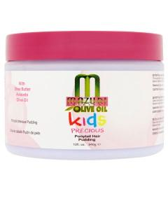 Mazuri Kids Olive Oil Precious Ponytail Hair Pudding 12oz