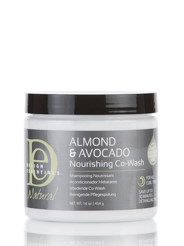 Design Essential Natural Almond & Avocado Nourishing Co-Wash 160z