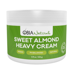 Obia Naturals Sweet Almond Heavy Cream 8oz